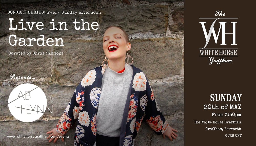 Concert Series: Live in the Garden w/ Abi Flynn at the WHG