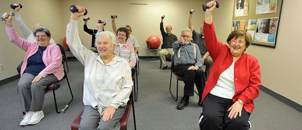 TUESDAY KEEP FIT AT ST MARY'S