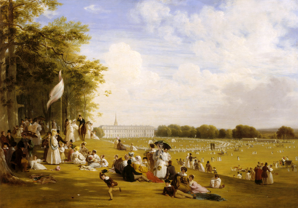 Fete in Petworth Park, 1835 1836 by William Witherington (1785-1865) @National Trust Images.Derrick E. Witty.jpg
