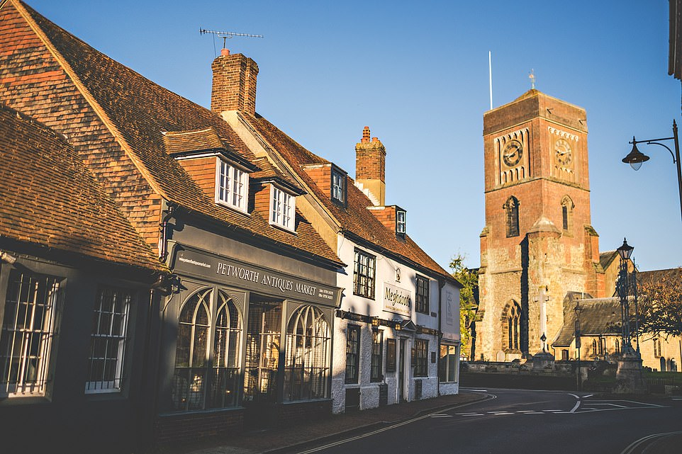 A tiny piece of old England with a big appeal: Exploring the quaint cobbled streets, hidden lanes and tile hung buildings of Petworth