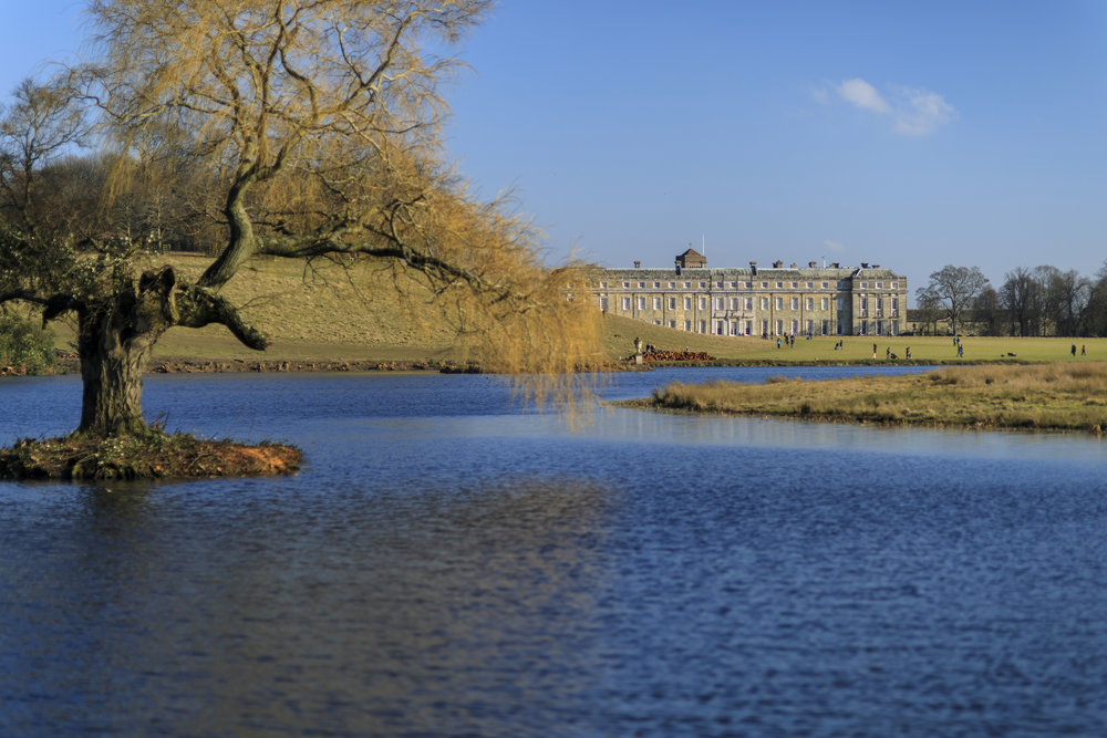 Petworth House and Park from the Upper Pond in winter @National Trust Images_John Miller.jpg