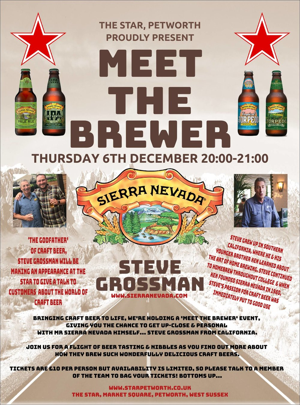 Meet the Brewer Sierra Nevada