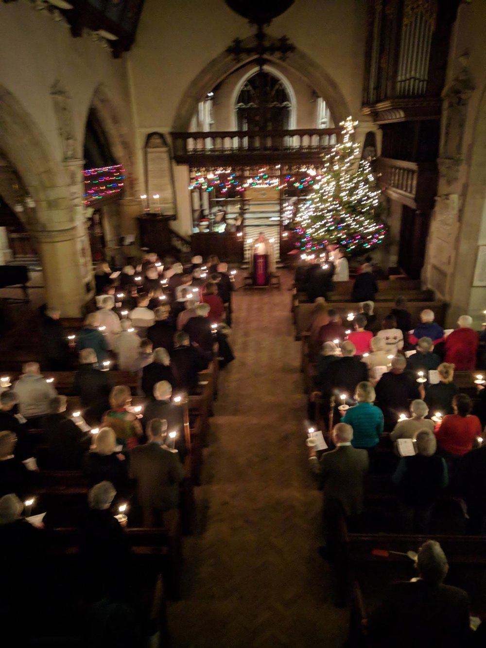 Christmas Eve Crib Service