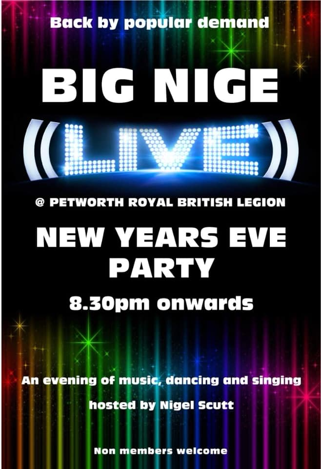 New Year's Eve at The British Legion