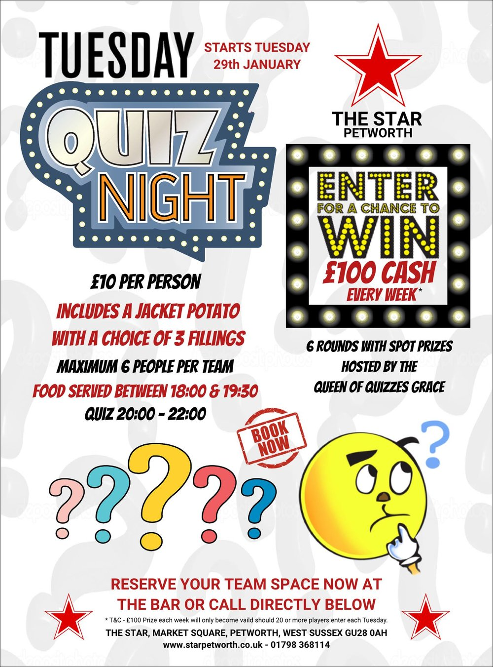 Quiz Night at The Star