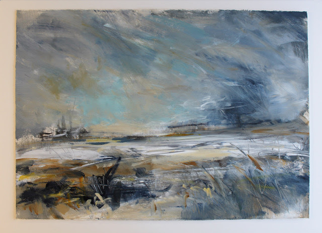 Creative Landscape in Mixed Media with Alison Orchard at Moncrieff Bray