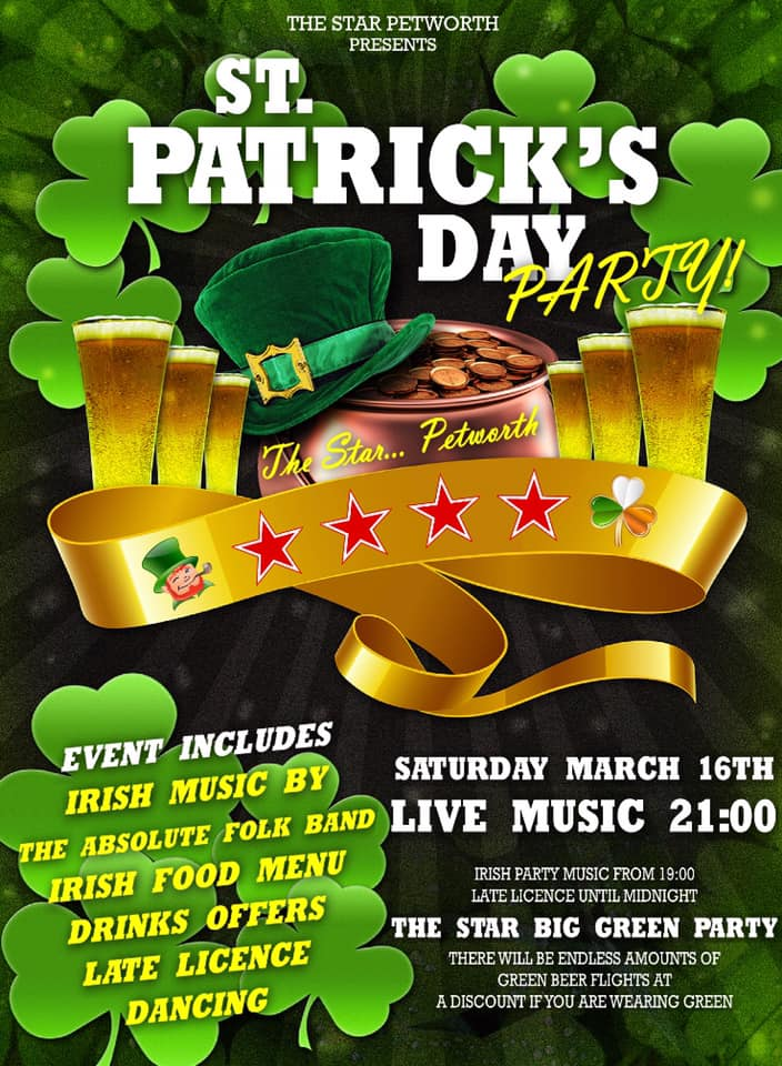 St Patricks Day at The Star