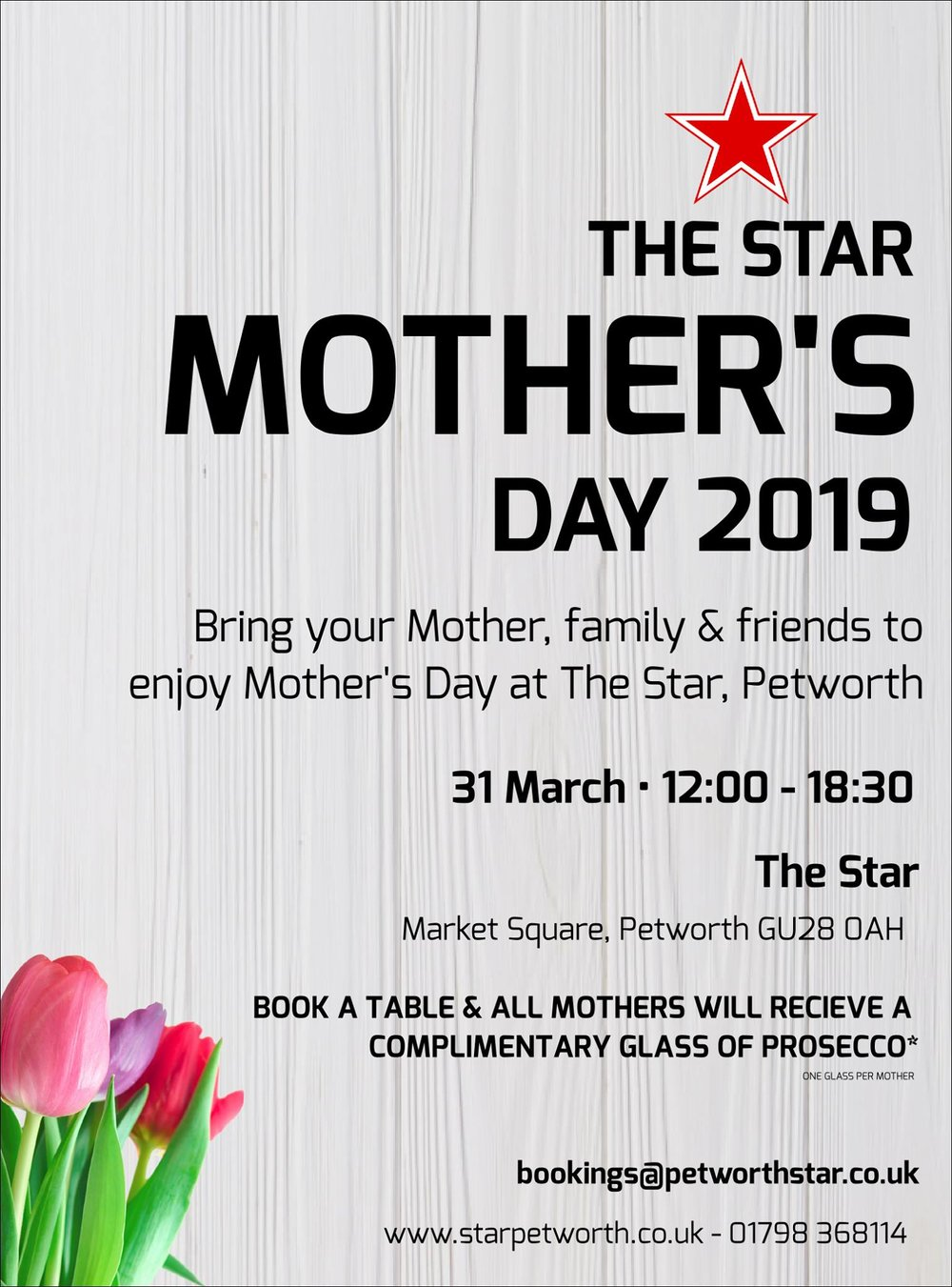 Mother's Day 2019 at The Star