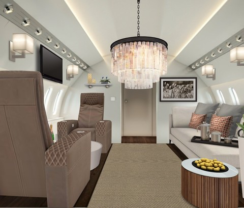 Private Jet, Abu Dhabi