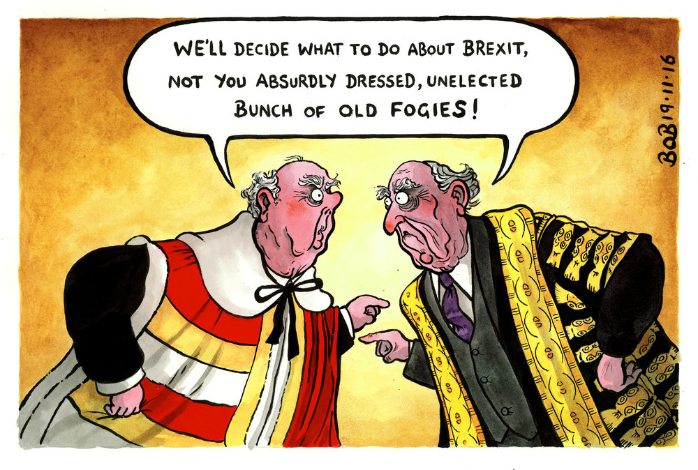 Both the Supreme Court and the House of Lords threaten to block Britain's exit from the European Union.