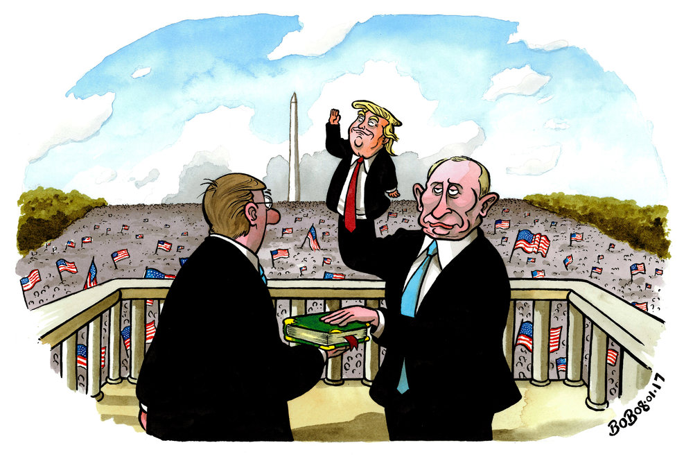 As the inauguration of President Donald Trump approaches, there is growing concern over Russia's involvement in the outcome of the Presidential election and Vladimir Putin's relationship with Trump.
