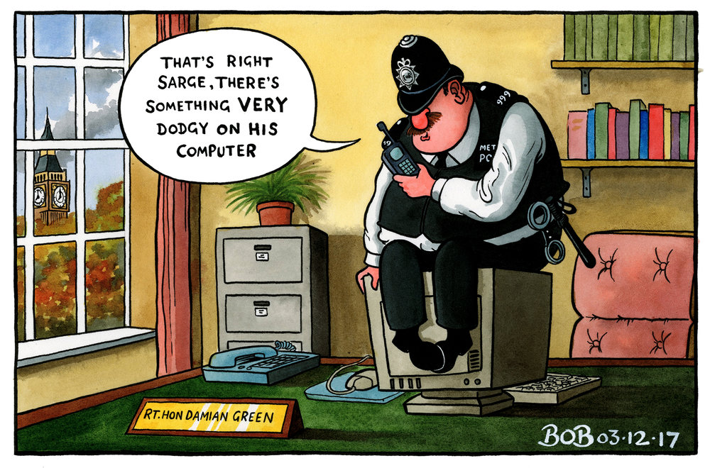 The Metropolitan Police are accused of misconduct over their accusations of Damian Green having pornography on his computer. The claims are believed to stem from a years-long grudge born by two former officers who wanted to take revenge on Green.