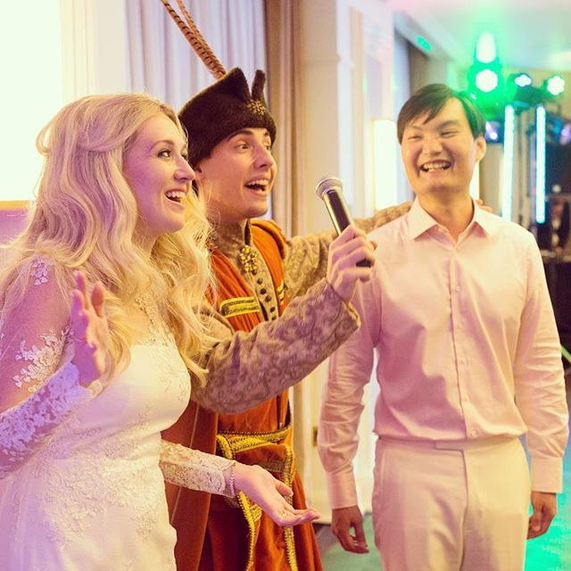 Having my husband sing Polish folk songs at our wedding : priceless. #mixedcouple #weddinggames #love #vosego #asiasaidyes #polishgirl #warsaw #warszawa #wesele #slub #ślub #weddingday #weddingphotography #marriage #gettinmarried #singapore #poland #internationalmarriage