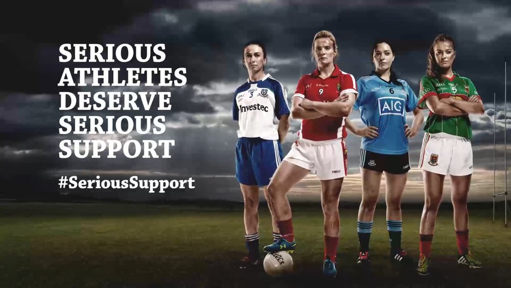 Ladies GAA fund the CLIMB course for ARC Cancer Support.