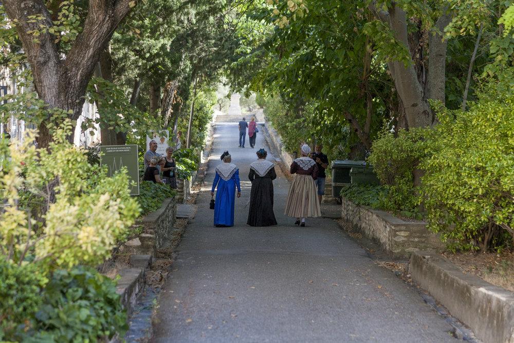 Les Arlésiennes at Frigolet