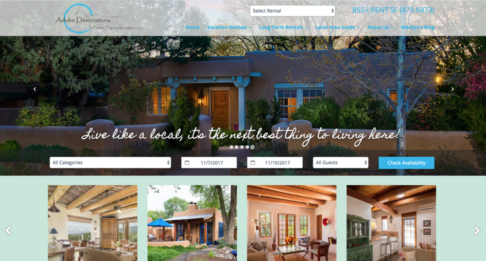 Adobe Destinations Vacation Rentals