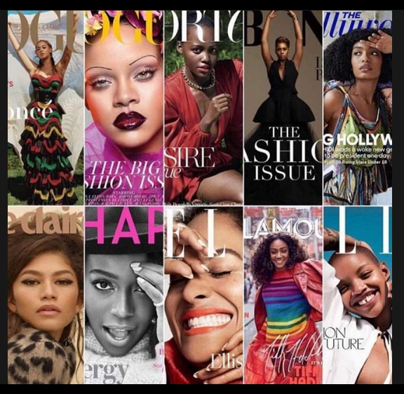 Black Women September 2018 Magazine Covers