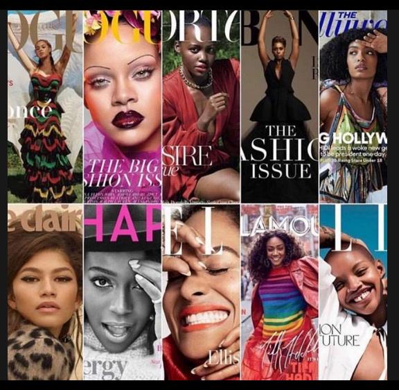 Black Women September 2018 Magazine Covers