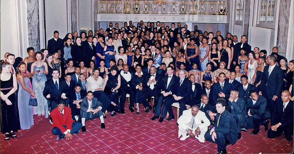 The Jackie Robinson Foundation Scholars in 2000 - Can you spot me? This scholarship made it possible for me to graduate from college debt-free.