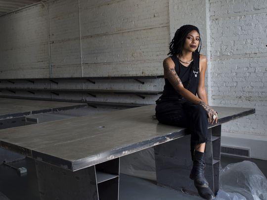 Karissma Yve (Founder, Designer of XENOPHORA) via Detroit Free Press