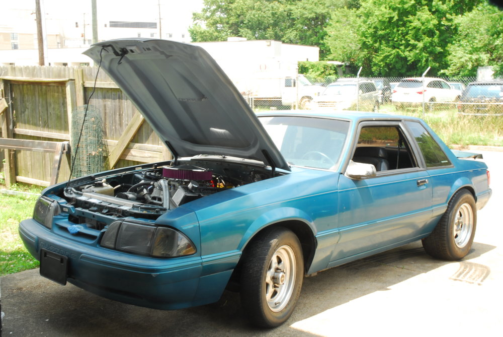 1993 Mustang LX Notchback (Misty)