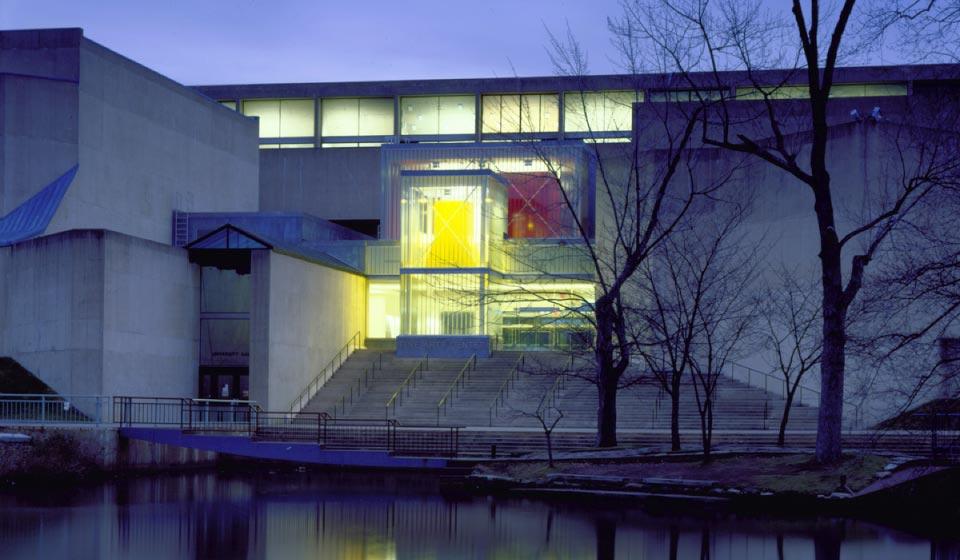 Fine Arts Center Lobby