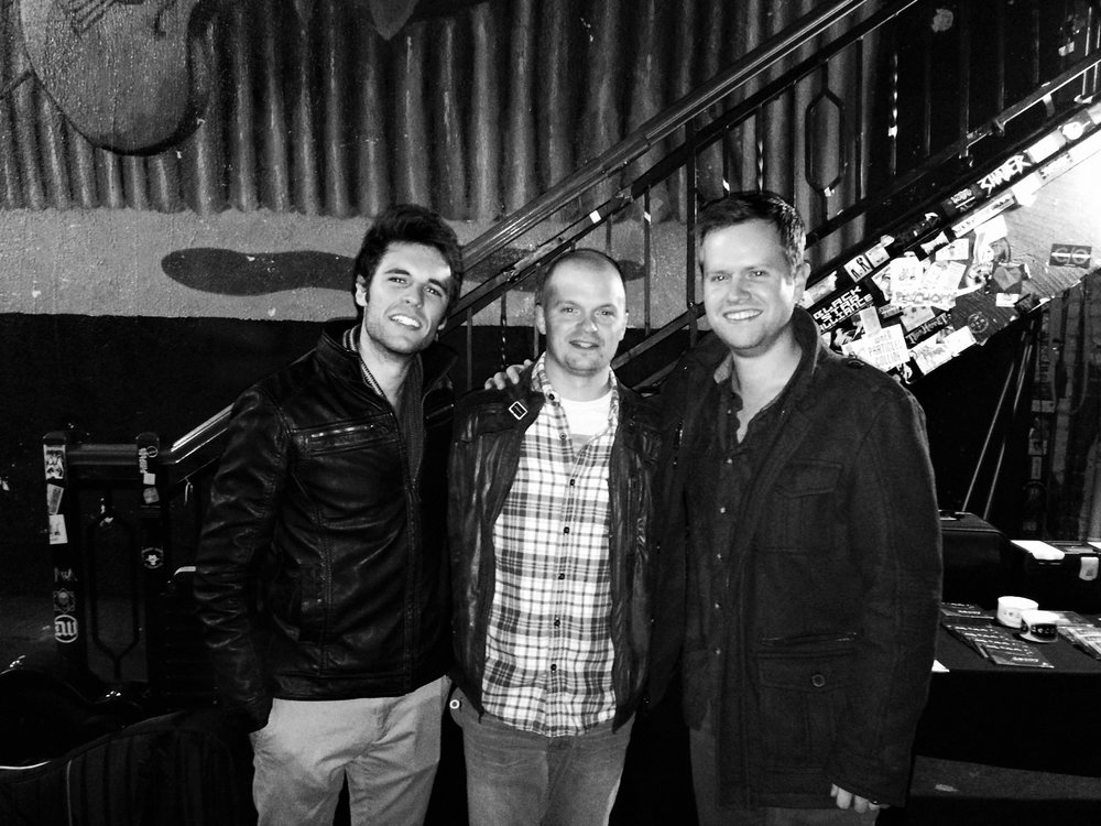 AWESOME NIGHT PLAYING A CONCERT WITH  JD EICHER  AND  CHARLIE OXFORD