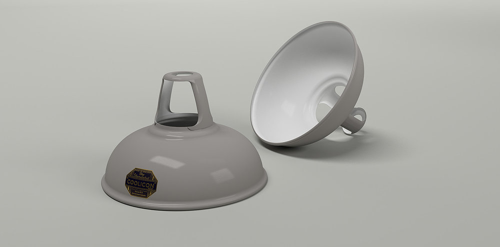 Coolicon Lighting - 1933Design - Original Grey.jpg