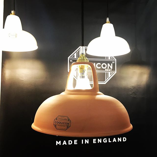 #mo2018 #mo2018beststand #cooliconoriginal hand made Terracotta Shade by Coolicon Lighting Hall 6 M94