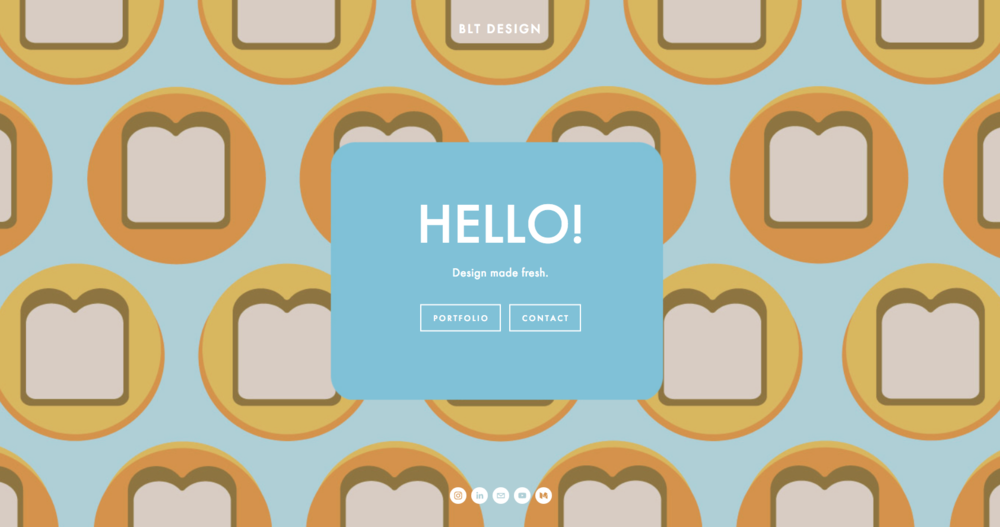 BLT Fresh - The website you're on now!