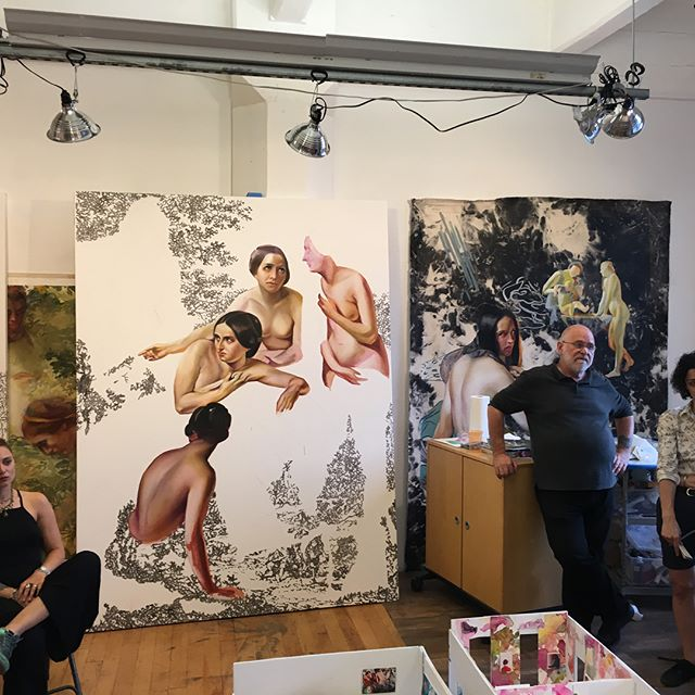 Many thanks to a few of the incredible artists at #sharpewalentas ! Thanks to @therealnarcissister @fordjourstudio @angelafraleigh for having us and a special thanks to @monikafabijanska for organizing! TCC is now on summer vacation but these studio visits are sure to stay with us for awhile!