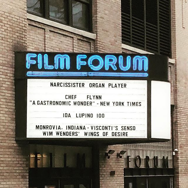 Don't miss 'Organ Player' by @therealnarcissister playing now through 11/20! Special Q&A's on 11/10 and 11/17.  #organplayer #filmforum #narcissister