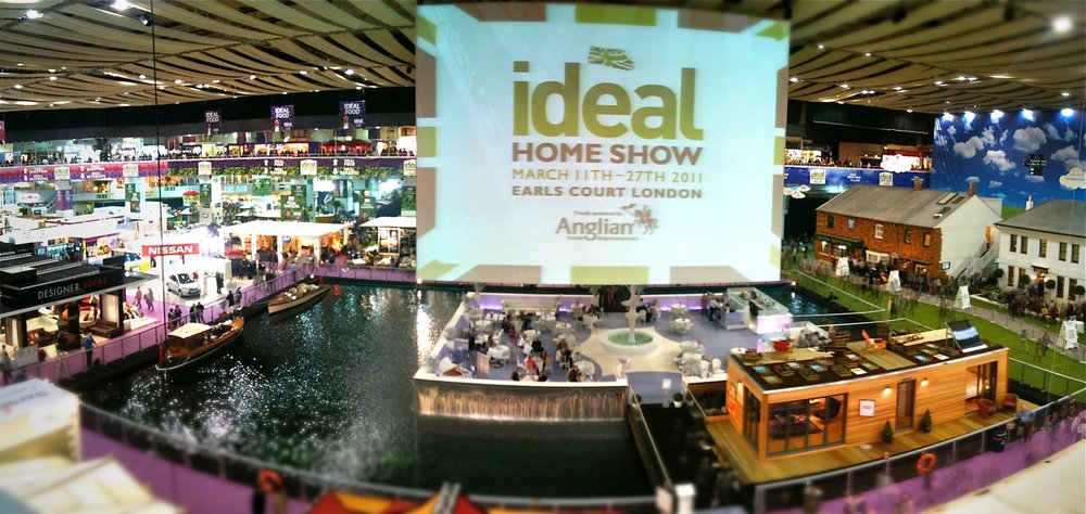Ecofloatinghomes at Ideal Home Show