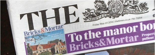"The Times ""Bricks and Mortar"" May 23 2014"