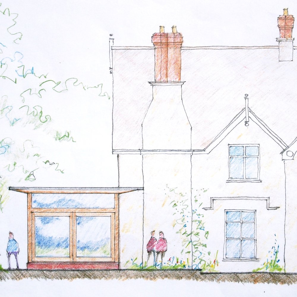 Arts and Crafts Home Extension