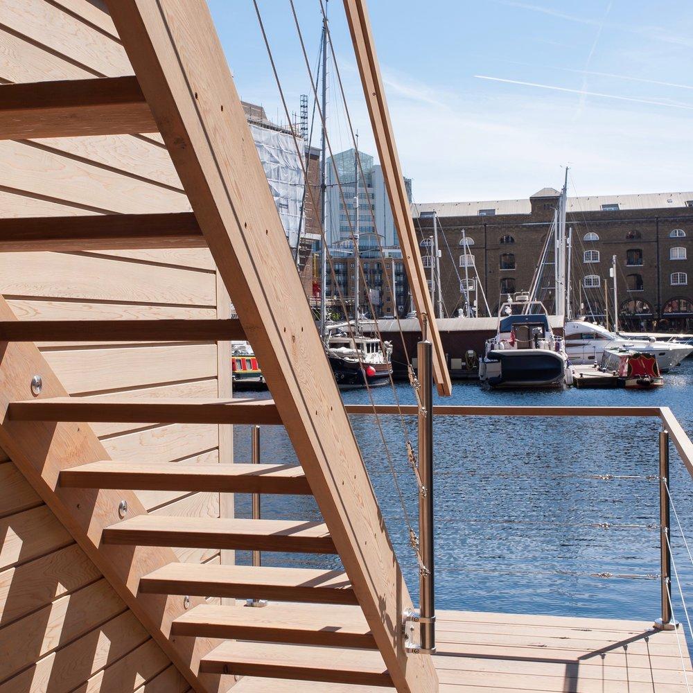 Roof Terrace Stairs St Katharine Docks.jpg