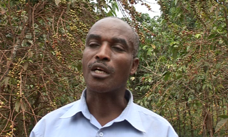 Jean Rwasa, President of Ngozi Coffee Producers Association