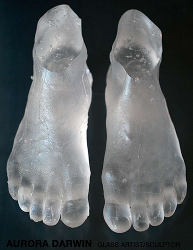 By glass artist/sculptor Aurora Darwin.