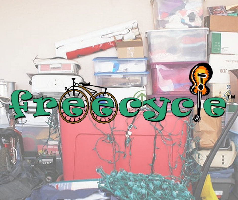 The Freecycle Network - Here's another way to avoid purchasing something new in a store while rescuing something from someone who no longer wants it. The Freecycle Network allows people to post items that they no longer need for someone else to come pick up for free.This process saves items from being put on the curb where they might be damaged through exposure to the elements before someone happens along who wants them.And the price is right - you really can't beat free!
