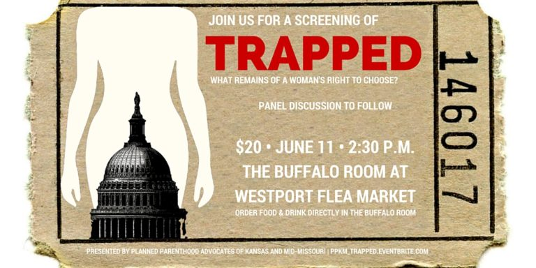 Planned Parenthood TRAPPED film screening invite