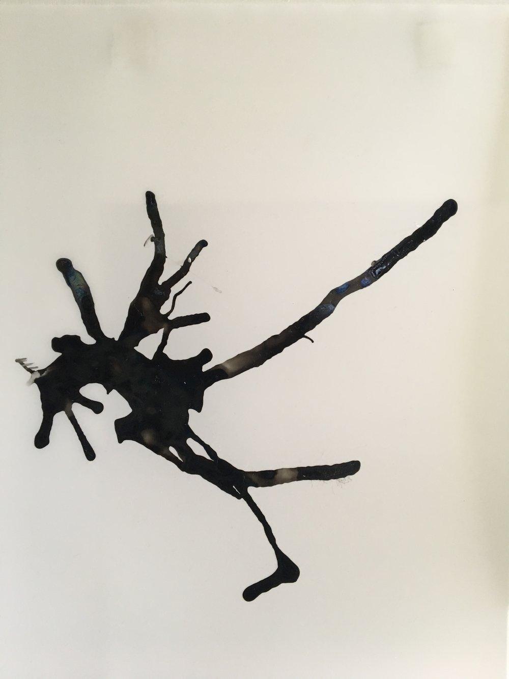 "Petropuru '16, 2017  11"" x 17"", Ink on paper  ©kellycorrell"