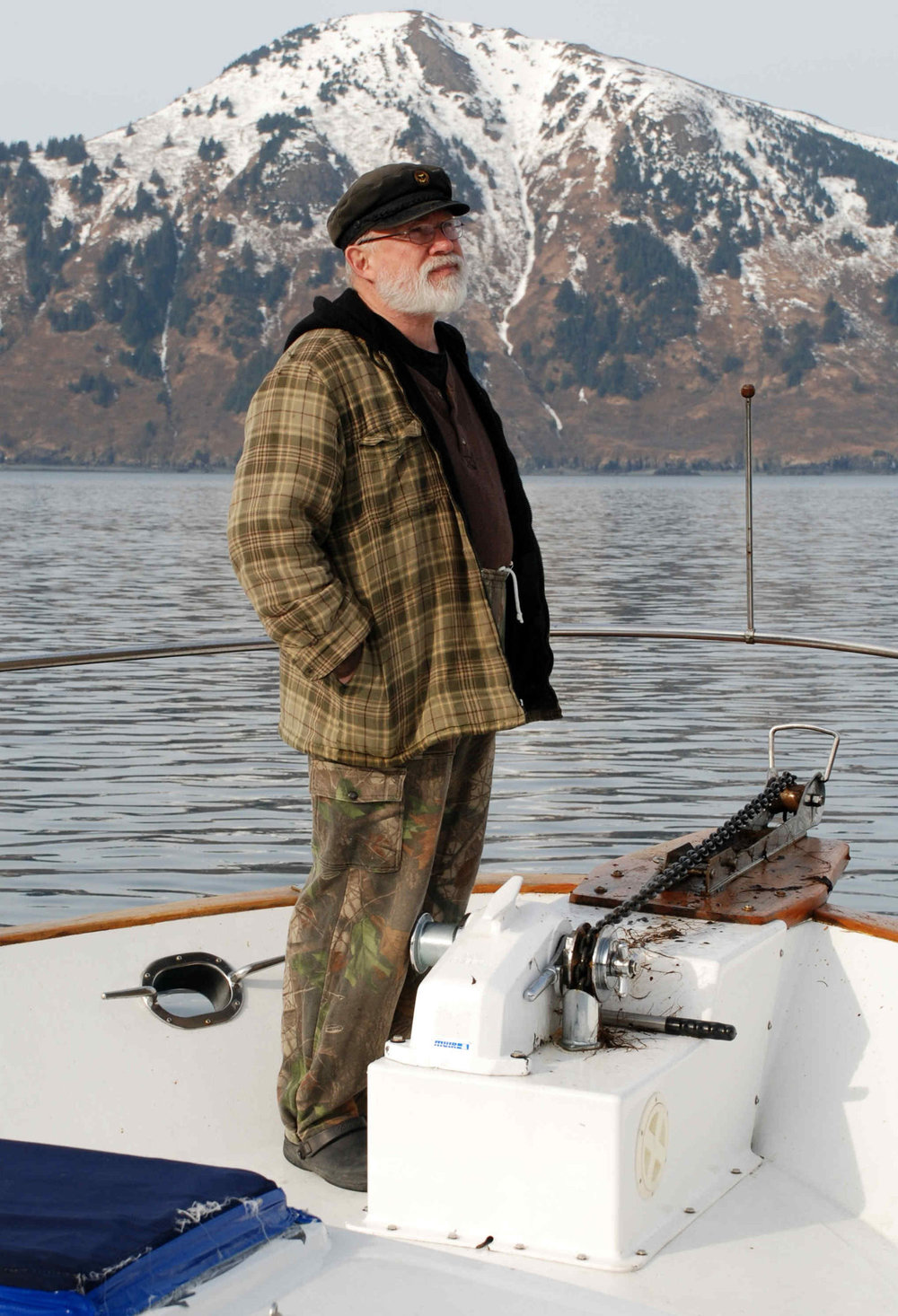 Aboard the  Best Friends  in Kodiak, AK