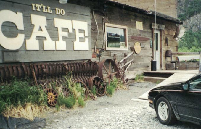Chitina Cafe, circa 1984