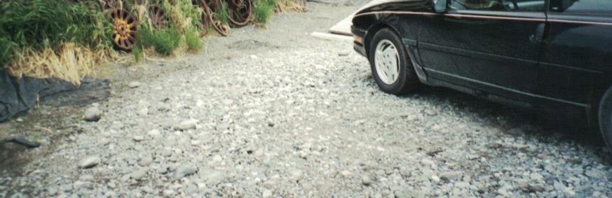 gravel road, Alaska