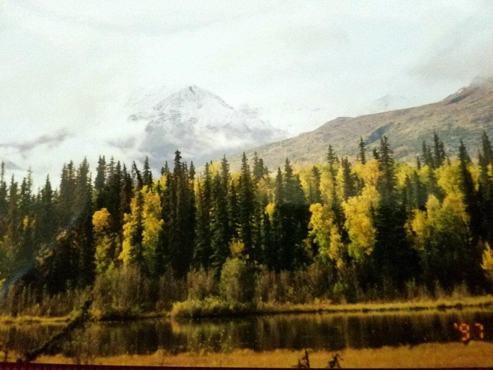 Castle Mountain near Chickaloon, Alaska