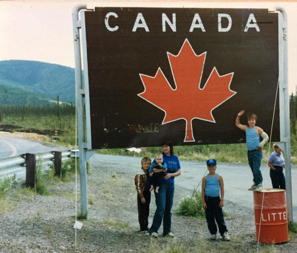 entering Canada, 1986