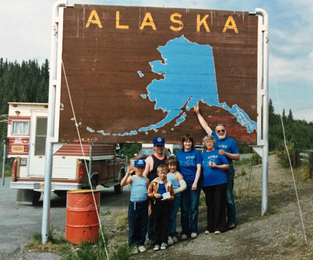 leaving Alaska, 1986