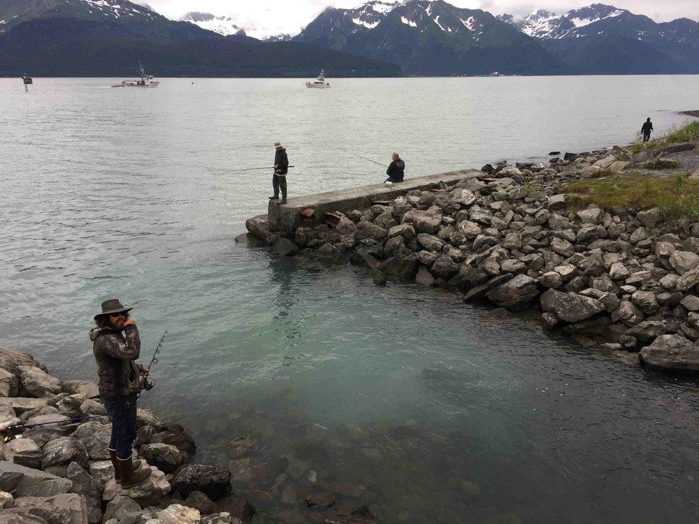 fishing near campground