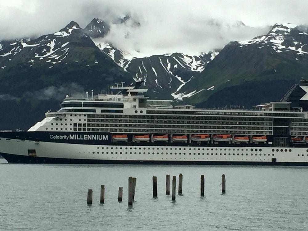 cruise-ship-Seward-Alaska