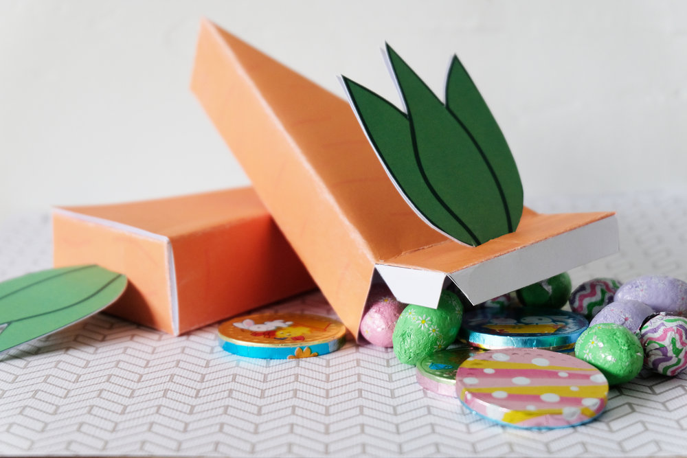 printable carrot box